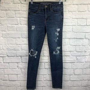 American Eagle Super Stretch Hi-Rise Jegging 4 Reg